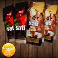 2 x Café Sati 100 % Arabica, 2 x Espresso Intenso